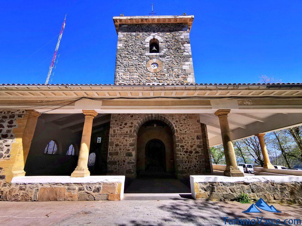 santuario de la virgen de arrate, qué ver en Eibar