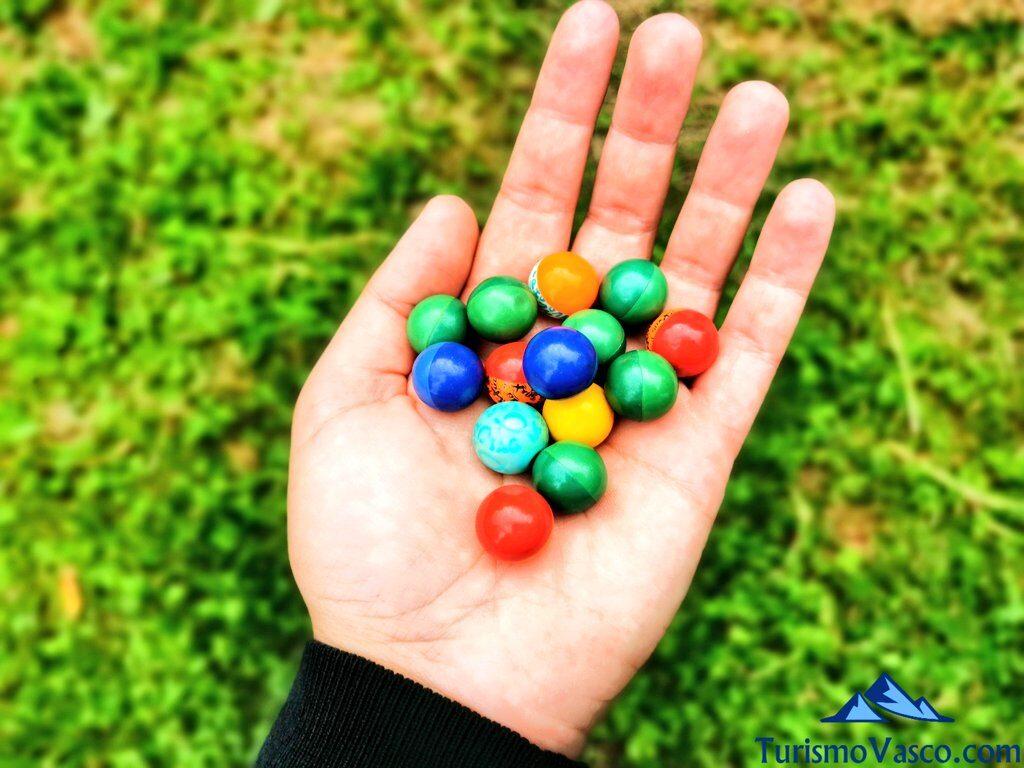 bolas de paintball, paintball en Amorebieta