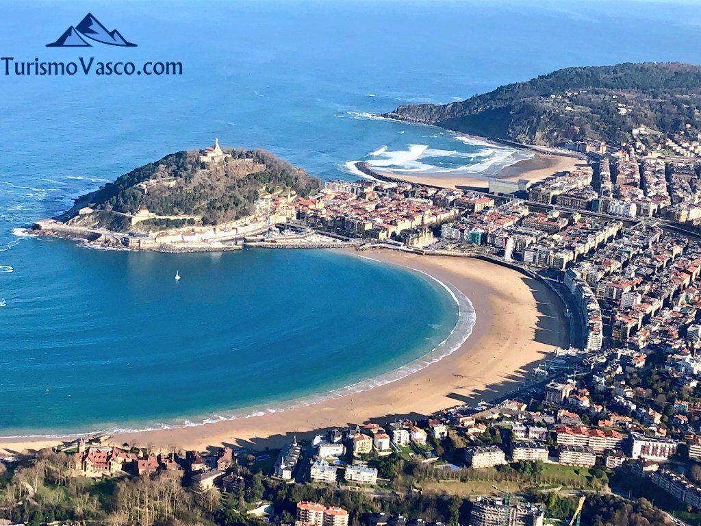 ciudad de donostia san sebastian, bahia de la concha, qué ver en Donostia San sebastian
