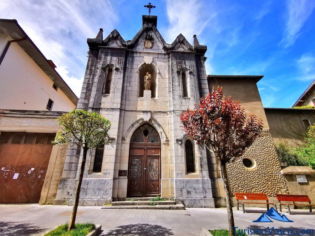 iglesia de san jose, qué ver en Markina Xemein