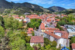 panoramica dron markina xemein, qué ver en Markina Xemein