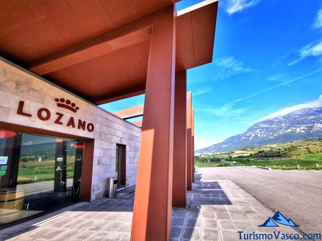 visita guiada a la bodega Lozano, visitas guiadas a bodegas de Rioja Alavesa
