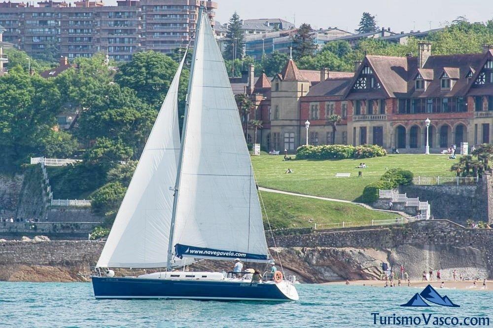 alquiler de velero, alquiler de barcos en Euskadi