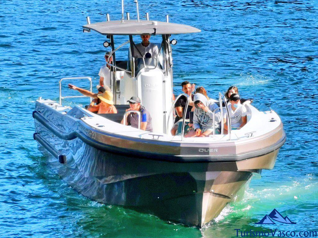 brai, rutas en barco pasaia y hondarribia, rutas en barco en donostia san sebastian, ruta en barco a Pasaia, ruta en barco a Hondarribia