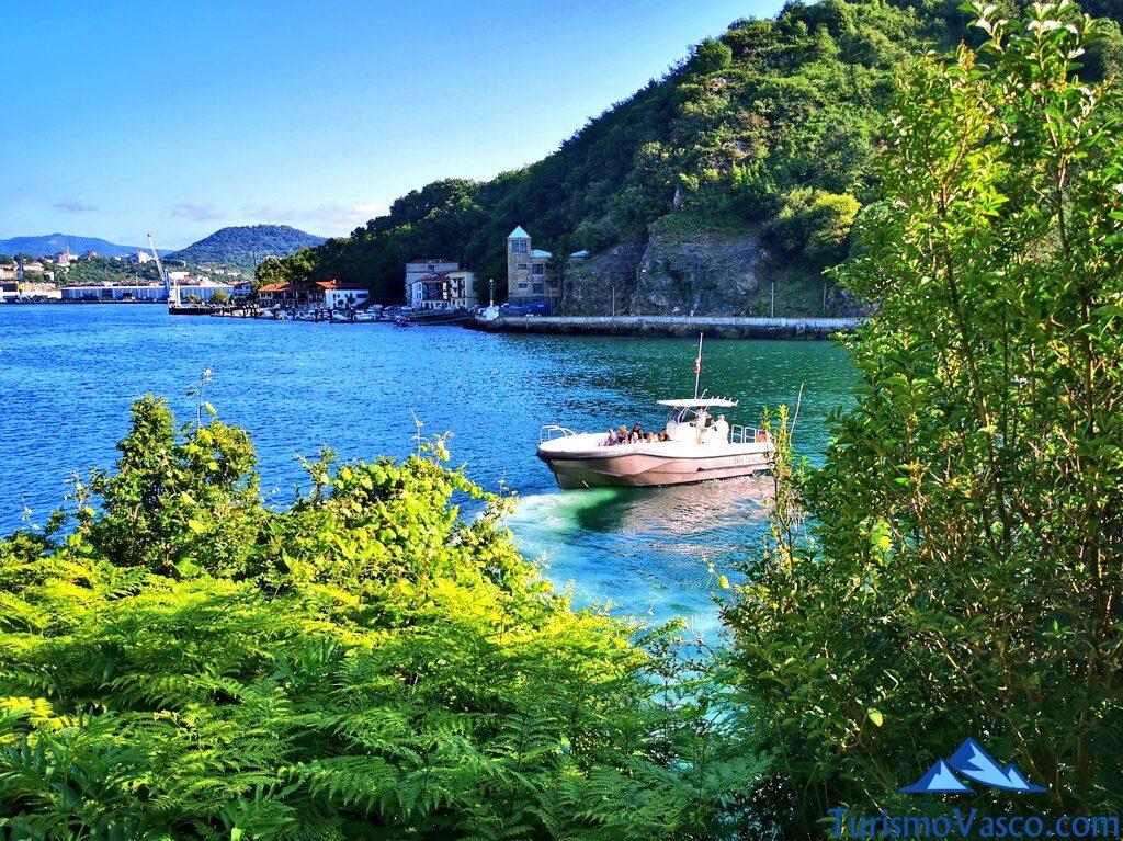 salidas en barco pasaia, rutas en barco en donostia san sebastian, ruta en barco a Pasaia, ruta en barco a Hondarribia