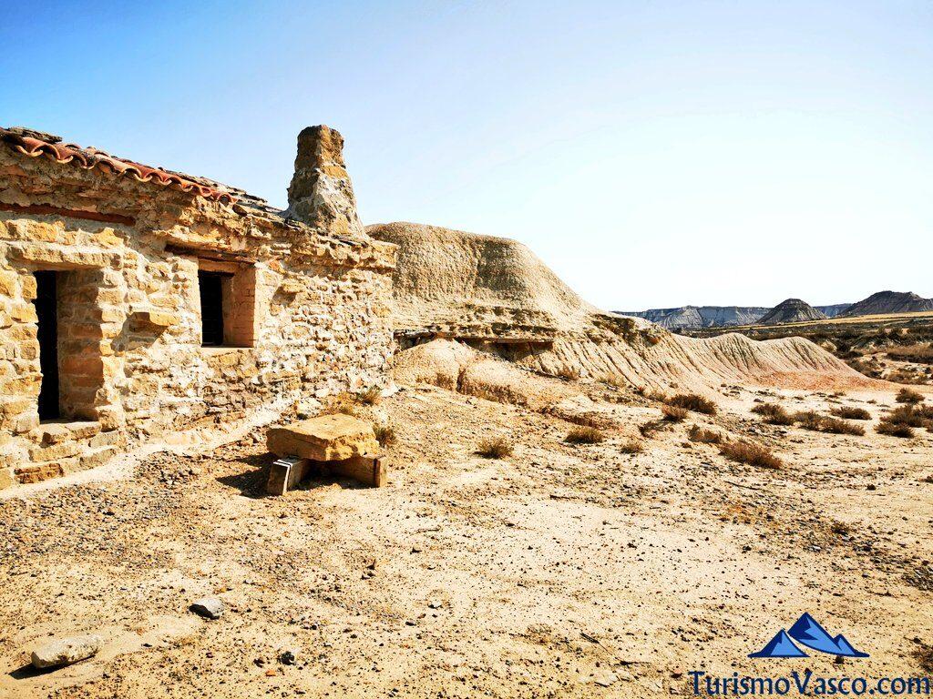 cabaña de las bardenas reales, qué ver en las Bardenas