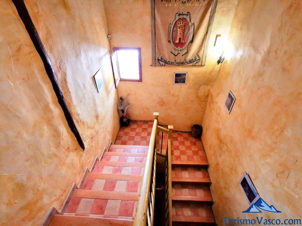 escaleras de la bardenas blanca, casa rural en las Bardenas