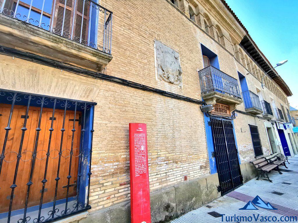 Casa Muruzabal Arguedas, qué ver en Arguedas