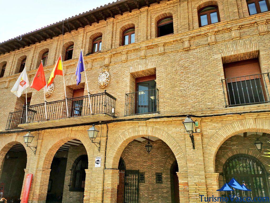 ayuntamiento de Arguedas, qué ver en Arguedas